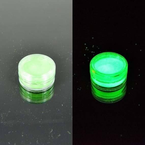 Jasnozielony fotoluminescencyjny 15gram