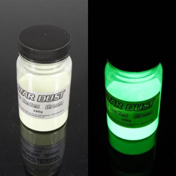 Zielony fotoluminescencyjny 100gram