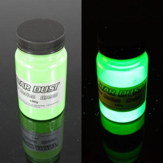 Jasnozielony fotoluminescencyjny 100 gram