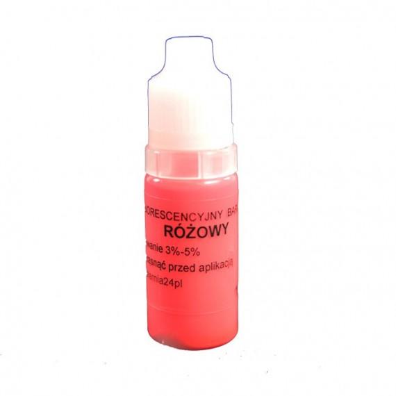 Barwnik fluorescencyjny różowy 10ml