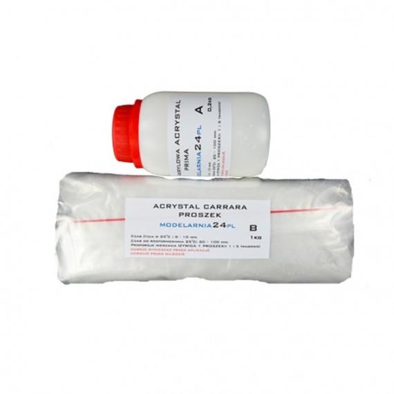 Acrystal Carrara 1,2kg (A 0,2kg + B 1kg)