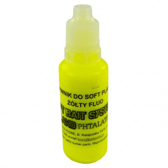 Barwnik Żółty Fluo do Soft Plastic 30ml