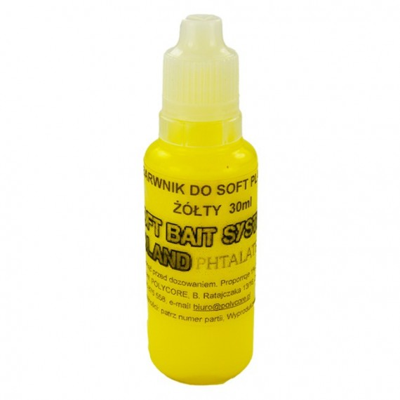 Barwnik Żółty do Soft Plastic 30ml