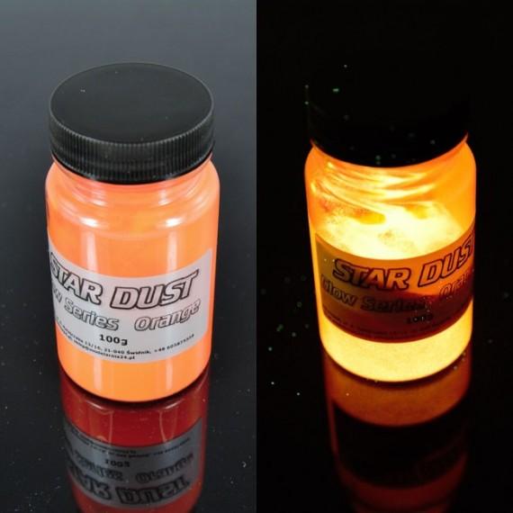Pigment Świecący POMARAŃCZOWY 100g