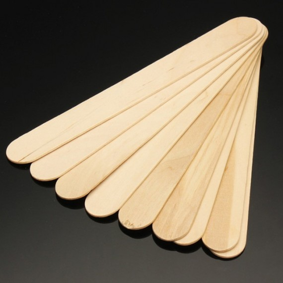 Szpatułki drewniane 10szt.