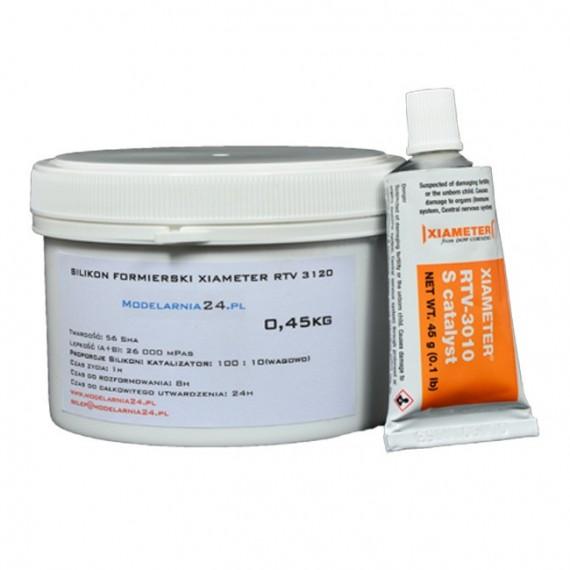 Silikon XIAMETER RTV 3120 (0,45 kg + katalizator 45g)