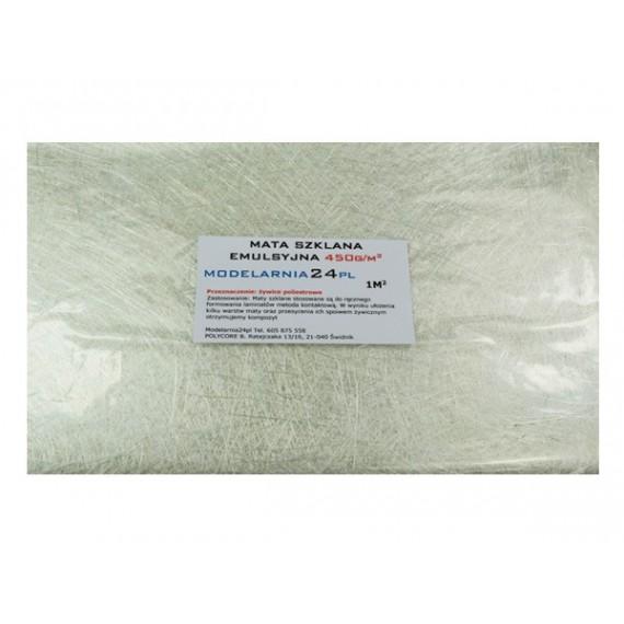 Mata szklana emulsyjna 450 g/m2 (1m2)