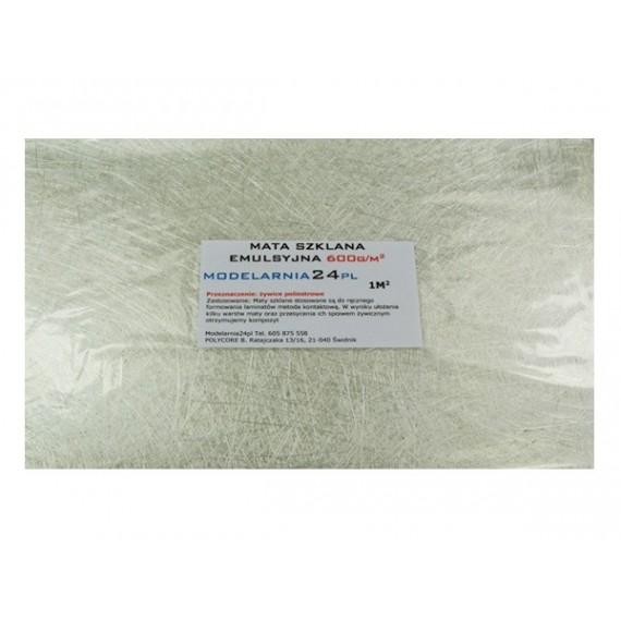 Mata szklana emulsyjna 600 g/m2 (1m2)
