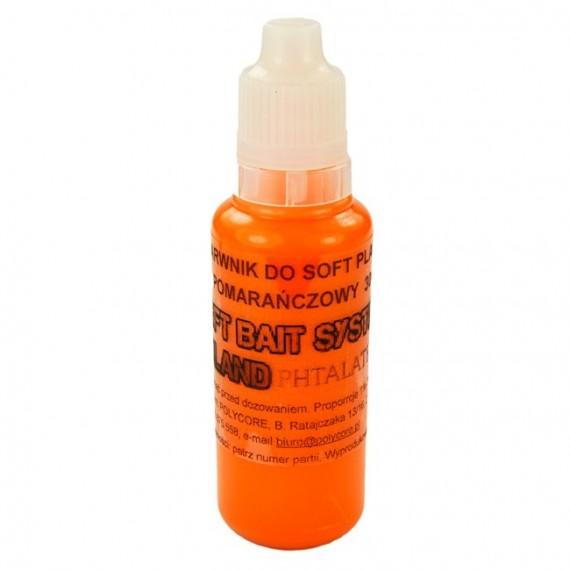 Barwnik Pomarańczowy do Soft Plastic 30ml