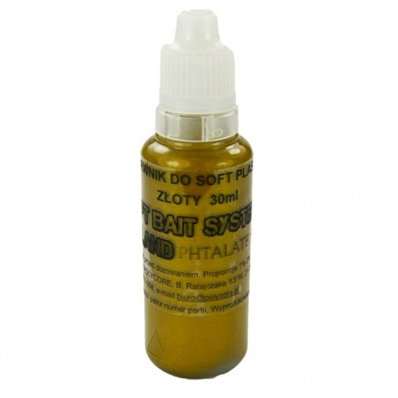 Barwnik Złoty do Soft Plastic 30ml