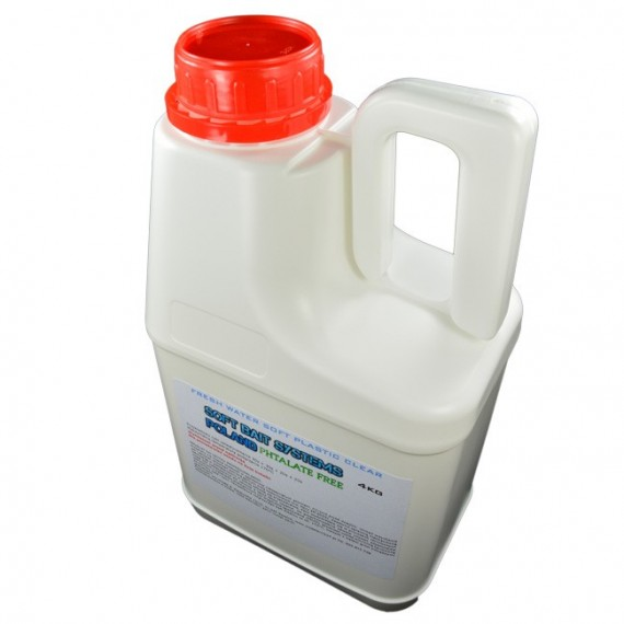 Soft Plastic Clear STANDARD 4kg
