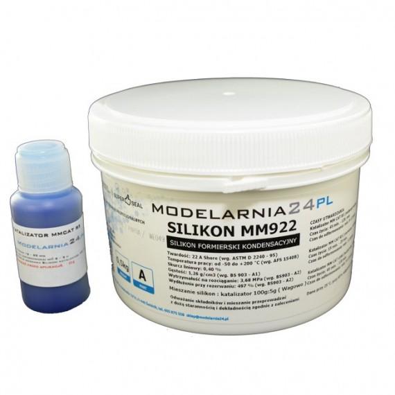 Silikon MM922 (standardowy) 0,5 kg + katalizator 25g