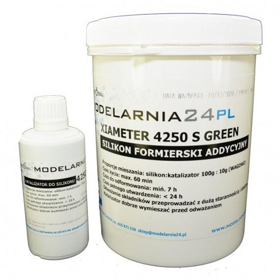 Silikon XIAMETER 4250-S Kit Green (1 kg + katalizator 100g)
