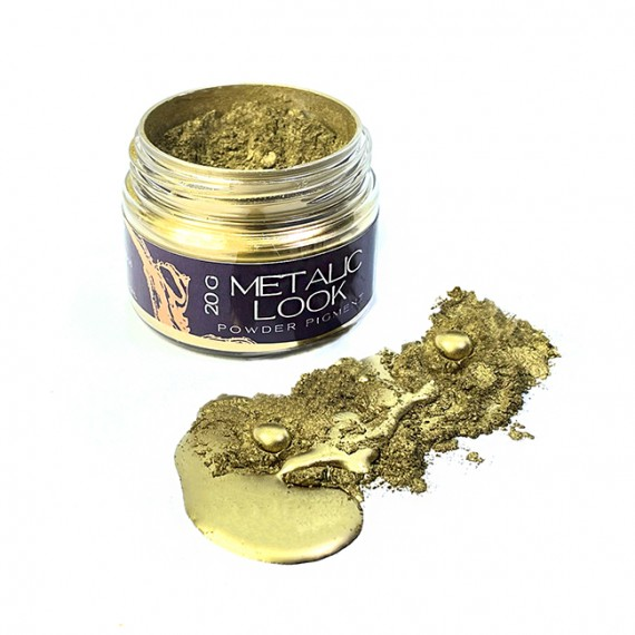 BM1 Pigment Metaliczny RICH GOLD 20g